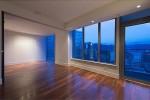 Living Room at 667 Howe Street, Vancouver West