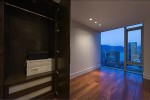 Luxurious Built In Closet at 667 Howe Street, Vancouver West