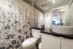 Spacious bathroom at 2302 - 788 Hamilton Street, Downtown VW, Vancouver West