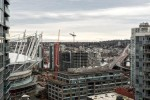 Spanning city and some False Creek views at 2302 - 788 Hamilton Street, Downtown VW, Vancouver West