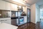 Kitchen at 2302 - 788 Hamilton Street, Downtown VW, Vancouver West