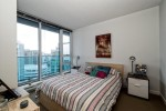 Bedroom at 2302 - 788 Hamilton Street, Downtown VW, Vancouver West