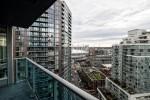 Spacious balcony at 2302 - 788 Hamilton Street, Downtown VW, Vancouver West
