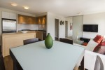 Open-concept-kitchen-and-dining-1204-1055-Homer-St-Domus at 1204 - 1055 Homer Street, Yaletown, Vancouver West