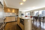 Open-concept-kitchen-and-dining1204-1055-Homer-St-Domus at 1204 - 1055 Homer Street, Yaletown, Vancouver West