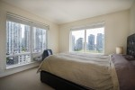 Spacious-master-bedroom-1205-1055-Homer-St-Domus at 1204 - 1055 Homer Street, Yaletown, Vancouver West