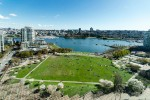 Unobstructed views of David Lam Park and False Creek - Governor's Tower in Yaletown at 2103 - 388 Drake Street, Yaletown, Vancouver West