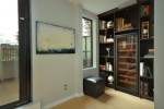 Bookcase den at 701 - 531 Beatty Street, Downtown VW, Vancouver West