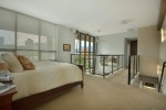 Master bedroom and walkway view at 701 - 531 Beatty Street, Downtown VW, Vancouver West