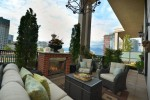 450 sq ft deck at 701 - 531 Beatty Street, Downtown VW, Vancouver West